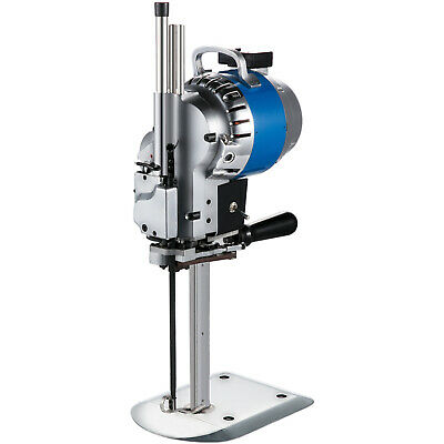 "Fabric Cloth Cutter 10"" Cutting Machine Auto Sharpening Ergonomic Cotton 110V"