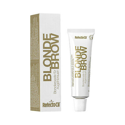 Refectocil Augenbrauenfarbe Wimpernfarbe Blondierpaste blonde brow 15 ml