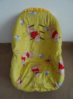 Winnie the Pooh Baby Toddler Car Seat  Yellow- Fits Convertible