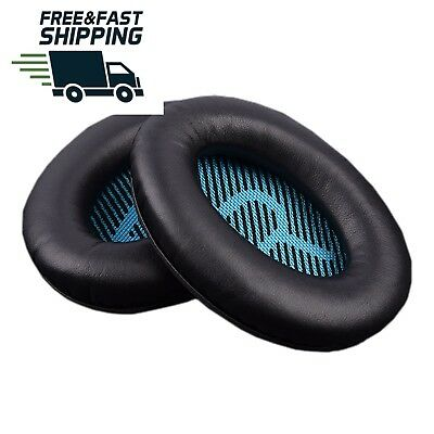 Replacement Ear Pad Foam Cushion for Bose QuietComfort 2 15 25 35 AE 2 Black