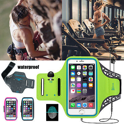 Sports Gym Armband Case Running Pouch Bag Jogging Cover Holder For Cell Phone US