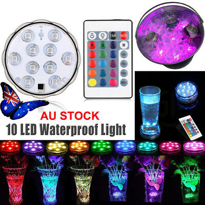 LED Underwater Submersible Night Fishing Light Swimming Pool Spa Bath LED Light