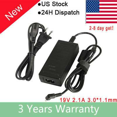 3.0*1.1MM 40W 19V 2.1A AC Adapter Charger Power Cord FOR Acer Laptop aspire S5