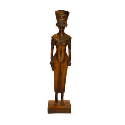 Beautiful Ancient Egyptian Nefertiti Figurine Statue
