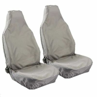 Peugeot Boxer07> Motor Home Heavy Duty Waterproof Grey Seat Covers 1+1