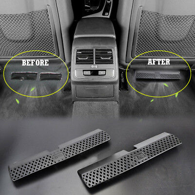 For 08-16 AUDI A4 S4 B8 Car Seat AC Heater Floor Air Grille Vent Cover Outlet