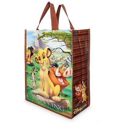 The Lion King Shopper Tote Shopping Bag Disney Store Simba Scar Hyenas Mufassa
