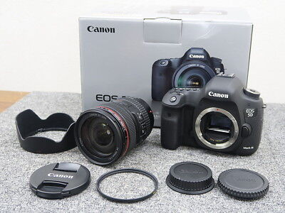 Canon EOS 5D Mark ⅢEF 24 - 105 L IS U Lens Kit Camera Working Properly
