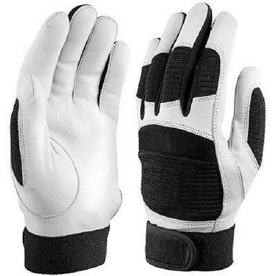 Indoor Cricket Batting Gloves (One Pair) - Leather Premium Quality