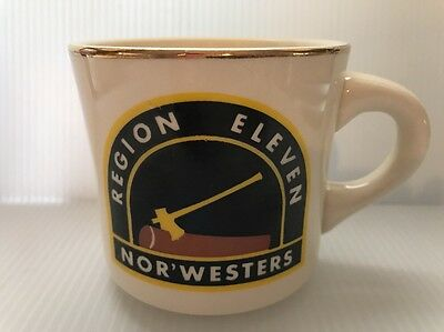Boy Scouts of America Region 11 Nor Westers Coffee Mug / Cup made in USA