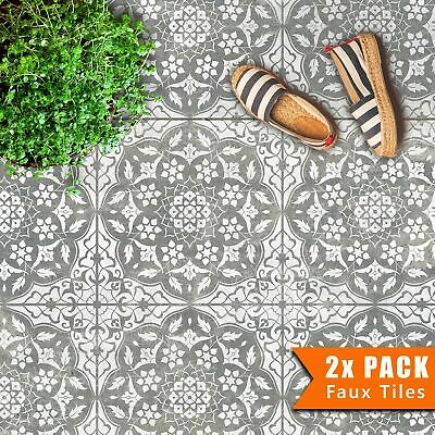 PACK OF TWO Tile Stencils - Dizzy Duck Designs - Azar - Custom size available