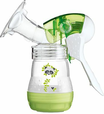MAM Breast Feeding Starter Set including Breast pump(Green)