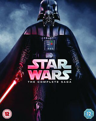 Star Wars - The Complete Saga [Blu-ray] New and Sealed!!