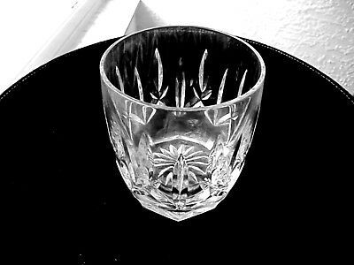Waterford Crystal Westhampton Pattern Double Old Fashioned Rocks Glass Signed
