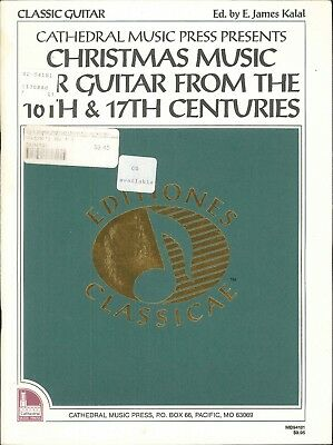 Christmas Music Classic Guitar 16th 17th Centuries 1992 Kalal Coventry Carol