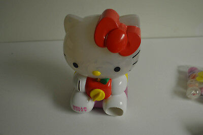HELLO KITTY Vending Gumball Machine with prizes and tokens SANRIO