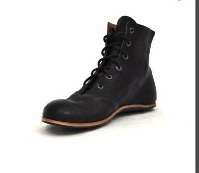 9dc57d459f02b CYDWOQ Cliff Dweller California Womens Handmade Boxer Leather Ankle Boots  Shoes