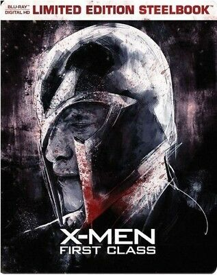 X-Men: First Class - Limited Edition Steelbook [Blu-ray] New & Sealed!