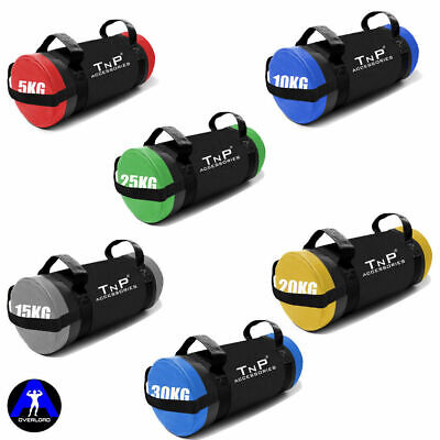 Power Bag Cross Fit Boxing Gym Training MMA Workout Weight Bag Sand Bag 5-30kg