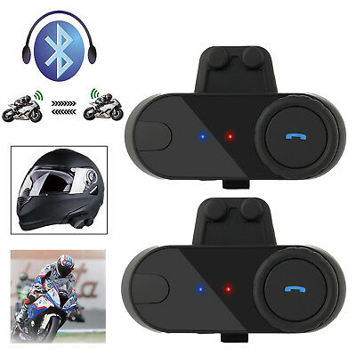 Bluetooth 800M Motorbike Motorcycle Soft Helmet Intercom Interphone Headset FM