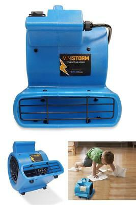 Blower Fan for Home Mini Air Mover Carpet Dryer 1/12 HP Industrial Toilet Blue