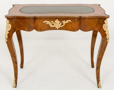 French Empire Bureau Plat Desk Circa 1860