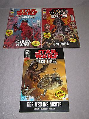 Star Wars Dino / Panini 59 + 60 Rebellion, 61 Dark Times  2006 / 2007