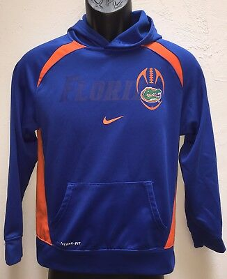 Florida Gators Nike Thermal Fit Hoodie Size Youth Large Womens Small Worn Once