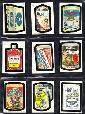 1982 Topps Ireland Wacky Packages - choose your card