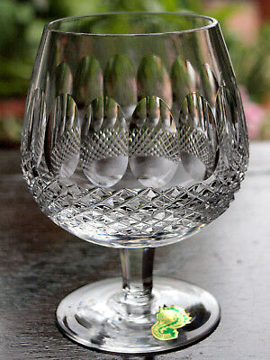 Waterford Crystal Colleen Brandy Glass, Mint, Vintage Made in Ireland