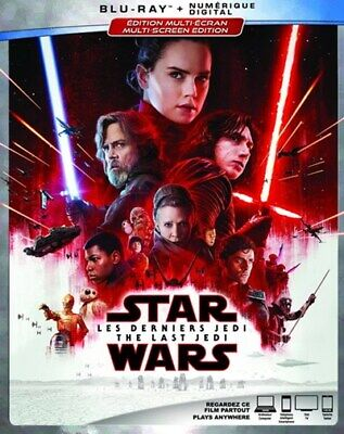 Star Wars: Episode VIII - The Last Jedi [Blu-ray] New and Factory Sealed!!