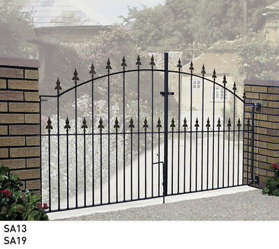 Wrought Iron Metal Driveway Gates Garden Gates U0026 Railings