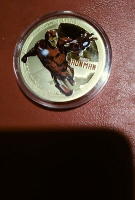 2014 Ironman commem.coin one ounce silver plated challange coin.