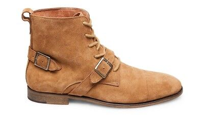 c95f131be1f STEVE MADDEN HOUND Tan Suede Men's Boots, Size: 12