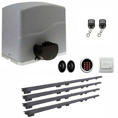ALEKO AR1500 Sliding Gear Rack Driven Opener Accessories Kit for Gate Up to 40ft