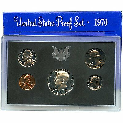 1970-S Proof Set United States US Mint Original Government Packaging Box