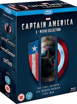Captain America: 3 - Movie Collection [Blu-ray] New and Factory Sealed!!