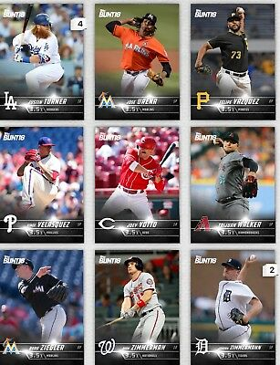 Topps Bunt Black Base  3.5x Boost Pick The Digital Card