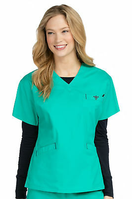 Med Couture Women's 8403 Signature Top