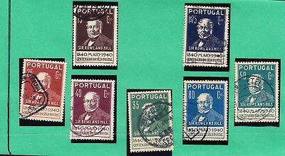 Portugal 1940 Rowland Hill Issues Not complete set