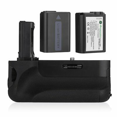 VG-C1EM Battery Grip + 2x 1500mAh NP-FW50 Batteries for Sony Alpha A7 A7S A7R
