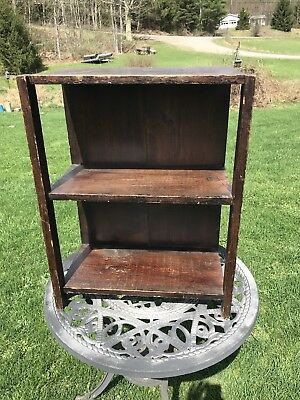Antique Mission Style Book Case , Arts & Crafts , Wood, Shabby