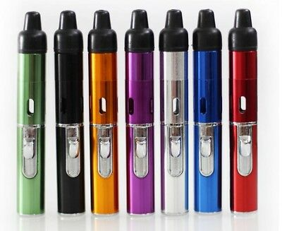 USA Seller Click-n-Vape Pipe w/Built-in Torch Lighter Click-n-Hit Sneak-a-Toke