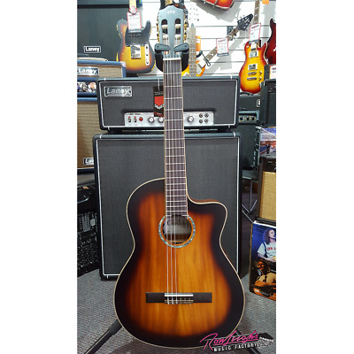 Cordoba C4-CE Classical Cutaway Electric Guitar with Solid Top and Deluxe Bag