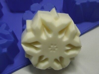 Snowflake Silicone Soap Mould / Mold**Soapmaking**