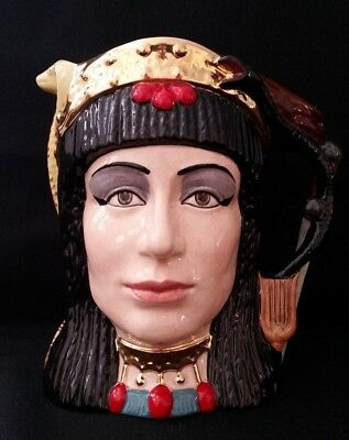 """Vintage Royal Doulton Large Two Sided Character Jug """"antony&cleopatra D6728"""