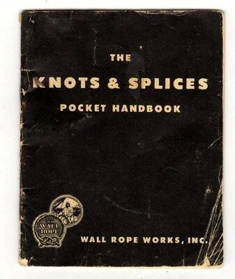 Knots splices rope work how to vintage ebook collection on cd the knots splicespocket handbook wall rope worksinc 23 fandeluxe Gallery