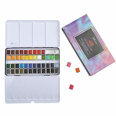 MEEDEN Watercolor Paint Set 12 24 48 Colors Sketch Drawing Set New