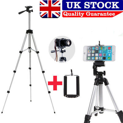 Stretchable Camera Tripod Stand Mount Holder For iPhone Samsung Phone+ Bag WWS