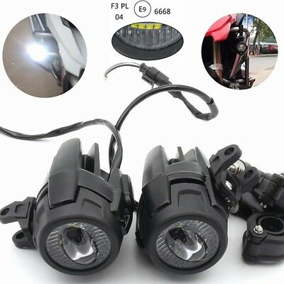 LED Fog Lamp Auxiliary Driving Light for BMW K1600 R1200GS R1100GS F800GS Harley